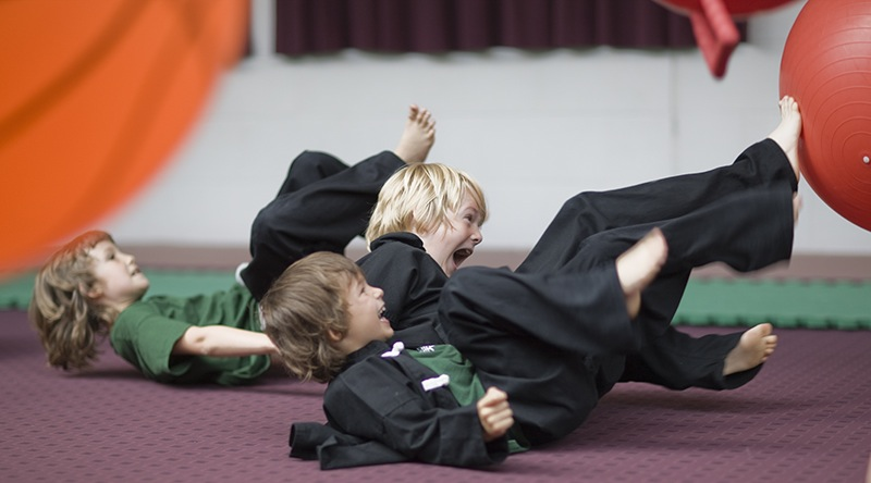 Besplatan ninjutsu trening