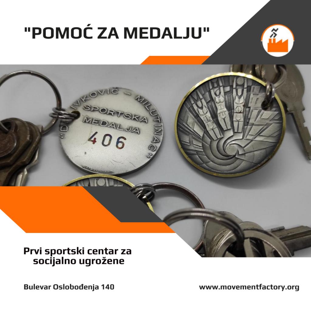 Pomoc za medalju - Fabrika pokreta